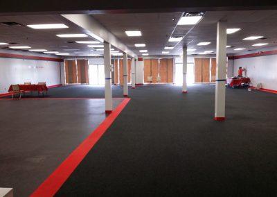 Brand New Gym Floor